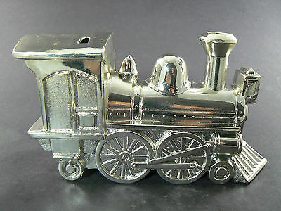 Webster Wilcox Silverplate Train Bank Made In Japan  W4 4