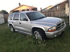 Dodge Durango pick up only