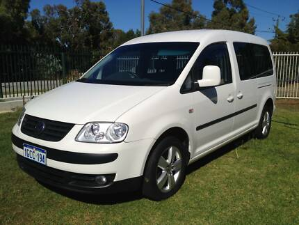 2008 Volkswagen Caddy 7 SEATER LWB 6 Speed AUTOMATIC 1.9 TURBO Maddington Gosnells Area Preview