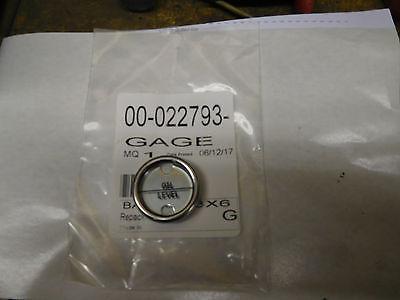 New Hobart Mixer Oil Gauge 60 80 140 Qt Sight Glass Gage 00- 022793 Oil Level