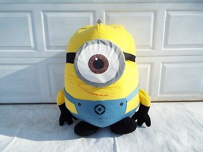 Despicable Me 2 Life Size Minion Stuart Plush Jumbo Size Stuffed Toy](Giant Minion)