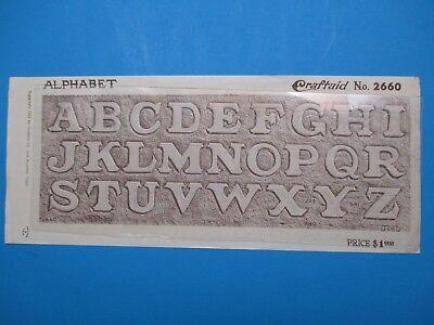 Разное Vintage Billfold Pattern/Template Alphabet Design