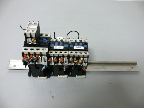 Lot of 3 Telemecanique Contactors LC1 D09 10 (x2) & LC1 D2500 + LA1 DN 11