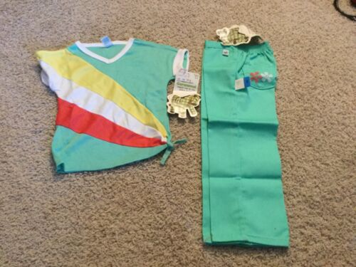 Vintage 1970's Garanimals kids clothes shirt pants new old stock with tags Zebra