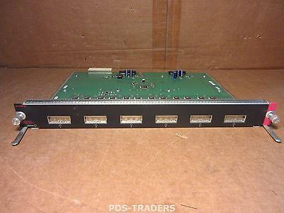 Cisco WS-X4306-GB Catalyst 4500 Gigabit Ethernet Module 6 Ports FROM CISCO 4507R