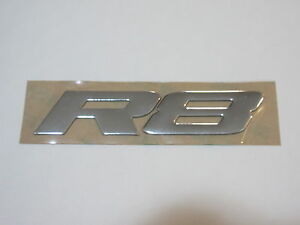 HSV VY VZ CLUBSPORT MALOO ' R8 ' BOOT LID BADGE GENUINE GM HSV