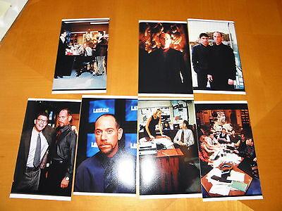 1998 Miguel Ferrer Lot 8 Slides + Photos Brave New World Movie & Lateline NBC TV