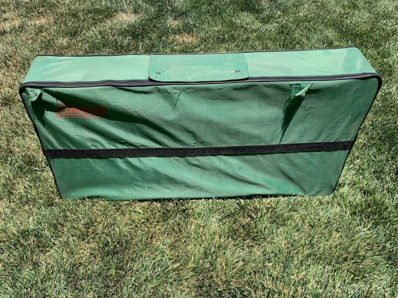 Coleman Camping Sink and Games Table