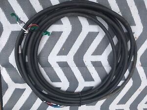 60 Feet of 1000 Volt 75 Amp 3 Conductor/1 Ground Armoured Cable