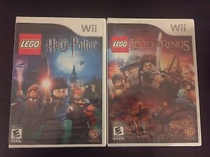 SEALED. Wii Lego Harry Potter and Lego Lord of the Rings  London Ontario image 1