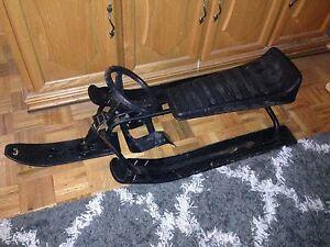 Snow racer sled