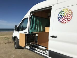 2017 Ford Transit high roof , turbo diesel, $2000 offered for sale