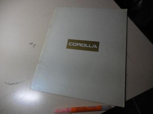 TOYOTA COROLLA Japanese Brochure 1992/12 101/104 4A-GE 4A-FE 100 5A-FE 4E-FE