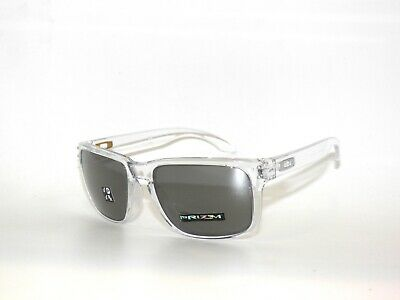 Oakley Holbrook 9102-H3 Clear Prizm Black Polarized Sunglasses (Polarized Sunglasses Clearance)