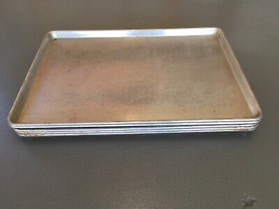 5pack Full Size 18x26 Commercial Grade Aluminum Sheet Pan Baking Party Nsf