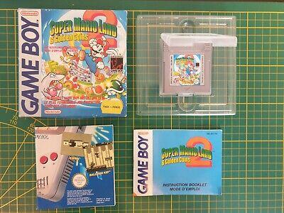 NEUF SUPER MARIO LAND 2 Nintendo Gameboy Game boy Boxed boite OVP DMG-MQ-FAH