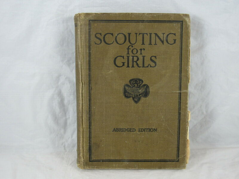 SCOUTING FOR GIRLS 1927 GIRL SCOUTS HANDBOOK