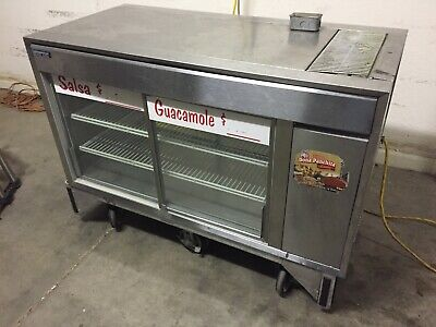 Silver King Refrigerated Floor Display Table Top Case With Rolling Base
