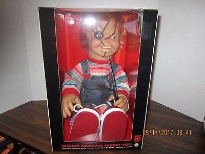 Talking Chucky 24' Doll - Bride of Chucky  Animated Halloween Decoration Moves - Halloween Moves
