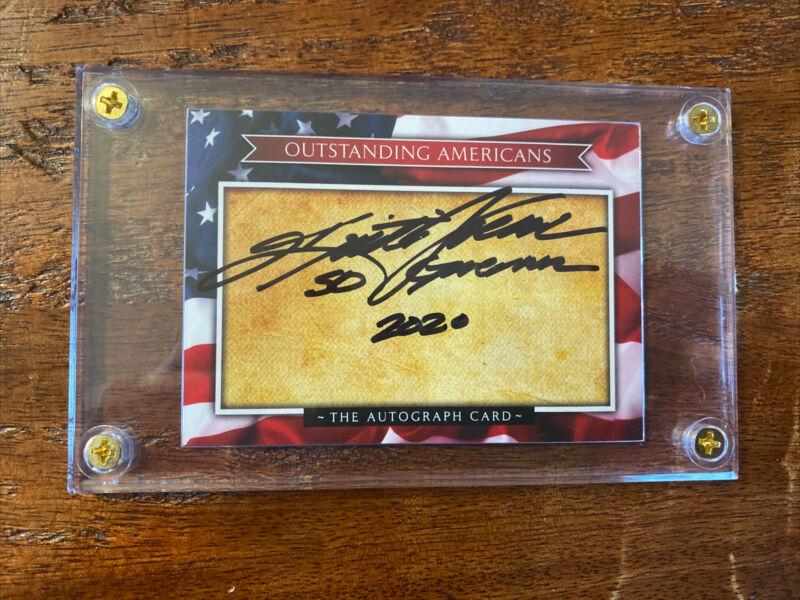 Kristi Noem Signed Card South Dakota Psa Dna Coa Autographed Governor