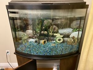 Fish aquarium 36 gallons with stand