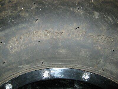 quad  Reifen mit alu Felgen waren auf einer 500 KYMCO VP 150€ , gebraucht gebraucht kaufen  Worms