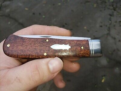 Great Eastern Cutlery GEC Tidioute #23 235120L Mesquite Liner Lock