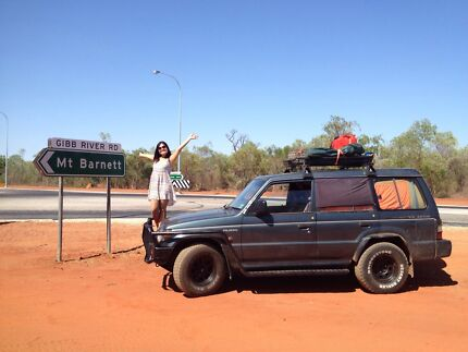 4x4 Pajero 4WD with bed and camping gear Broome 6725 Broome City Preview