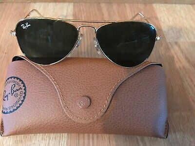 Ray Ban Aviator Sunglasses, Gold Collection Series rj9506s 223/71 (Aviator Junior)