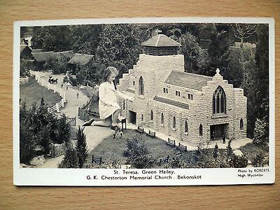 RP Postcard:St. Teresa, Green Hailey: G. K. Chesterton Memorial Church-Bekonskot