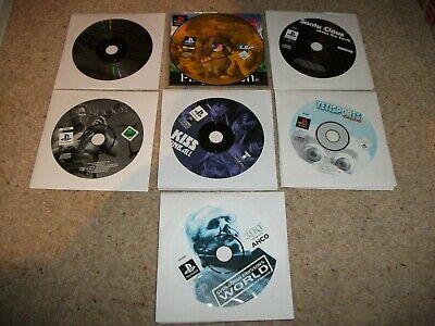 7x PS1 GAMES: SANTA / KISS PINBALL / YETI SPORTS / SHOOT / 5 STAR RACING / SVEN