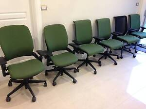6 Ergonomic Office Chairs - $25 each Chatswood Willoughby Area Preview