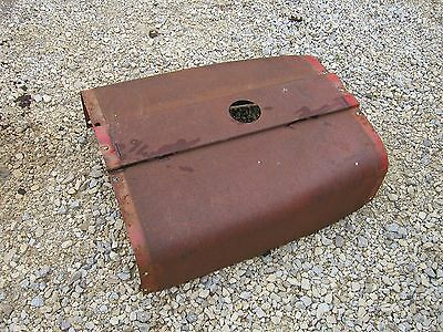 Farmall 706 Tractor Excellent Original Ih Ihc Hood For Over Gas Tank