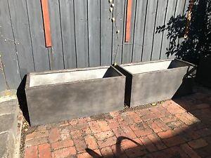 4x large planter boxes Armadale Stonnington Area Preview