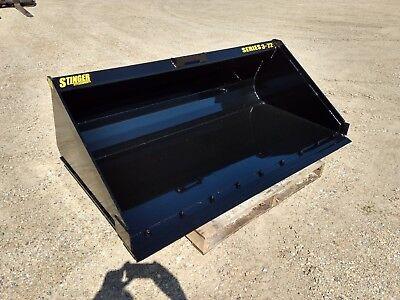 New High Capacity Dirt Material Bucket 6066727884 Skid Steer Track Loader