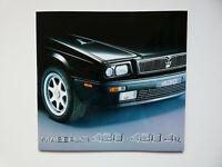 Maserati Prospekt 1992 Shamal 222 4V Spyder 430 4V Barchetta brochure prospetto