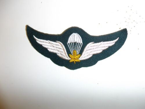 a0149  WW 2 Canada Canadian Paratrooper Cloth Wing Airborne Jump IR17A