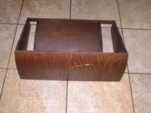 Antique Singer Treadle Sewing Machine Table Dust Cover with chain - Lot D
