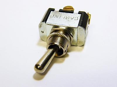 Carling 2fb54 On-on Spdt Metal Bat Style Toggle Switch