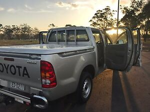 2010 Toyota Hilux Workmate Rutherford Maitland Area Preview