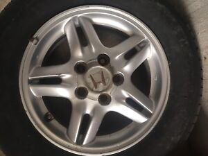 (Only one) 15 inch Honda mag rim 5x114.3