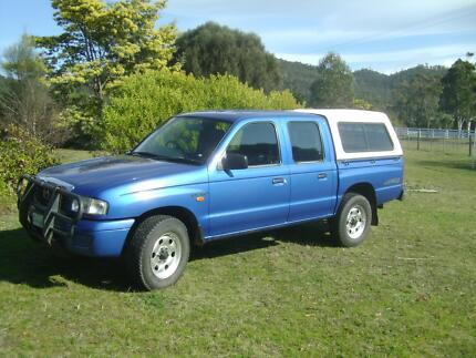 2003 Mazda B2500 4x4 twin cab Acton Park Clarence Area Preview