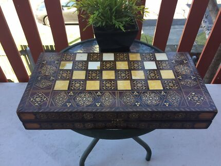 Handcrafted Backgammon Board Game