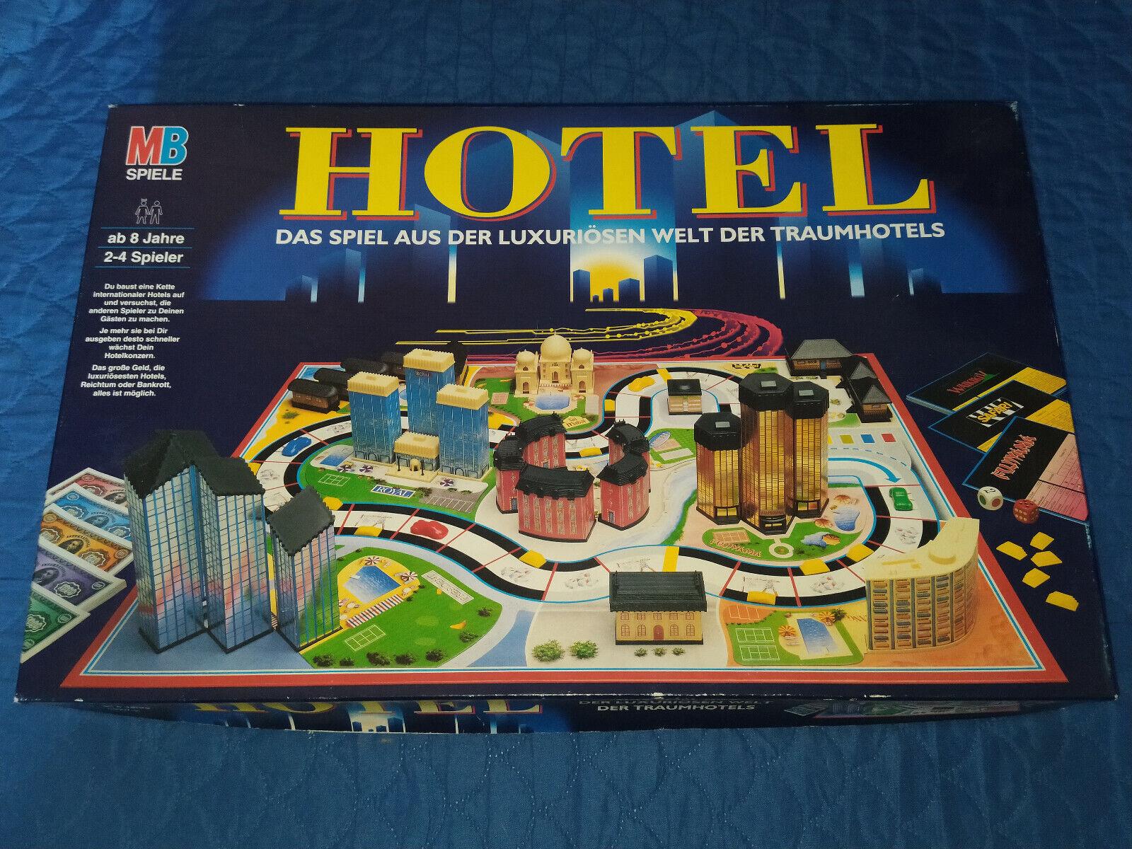 Hotel Brettspiel MB Spiele 14313 Komplett | Spiele