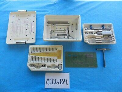 Zimmer Surgical Orthopedic Herbert Whipple Instrument Set W Case