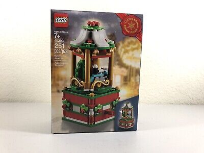 LEGO 40293 Holiday Christmas Carousel 2018 Limited Edition New Sealed