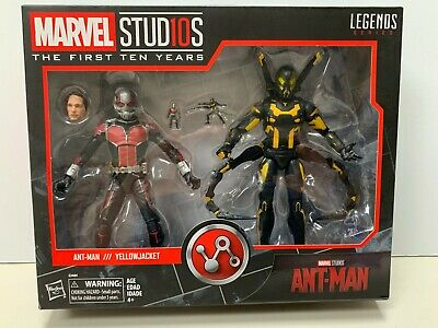 Marvel Legends The First 10 Years, Marvel Studios Ant-Man & YellowJacket 2 pack