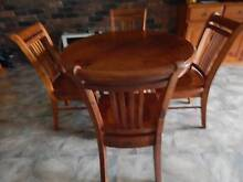 BALMORAL TIMBER DINING TABLE & CHAIRS Metford Maitland Area Preview