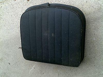 Farmall Series Tractor Deluxe Black Seat Metal Bottom Cushion Ih Ac Jd