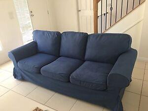 Blue sofa Ikea Sydenham Brimbank Area Preview